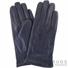 LADIES / WOMENS BUTTER SOFT REAL LEATHER GLOVES WITH 3 POINT STITCH DESIGN