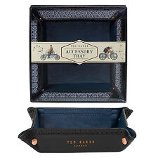 Ted Baker - Black Brogue Accessory Tray in Presentation Gift Box