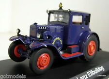 Schuco 1/43 Scale 02981 Lanz Eilbulldog closed blue diecast model tractor