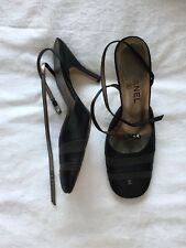 Chanel Black Shoes 4.5 / 37.5