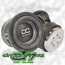 "PAIR of (2) DC AUDIO M3 8"" Dual 2 ohm Dual Voice Coil Subwoofer 600 Watts RMS"