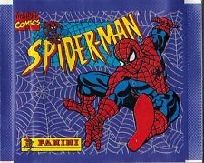 Italy 1995 Panini Spiderman Marvel Comics sticker pack