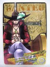One Piece AR Carddass 04-29 R Mihawk Shichibukai