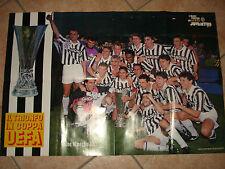 MAXI POSTER FC JUVENTUS COPPA UEFA 1992-1993 IL TRIONFO IN  COPPA UEFA
