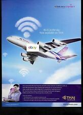 THAI AIRWAYS AIRBUS A380 2014 WI- FI IN THE SKY NOW AVAILABLE AD