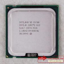 Intel Core 2 Duo E4700 CPU (BX80557E4700) LGA 775 SLALT 2.6/2MB/800 Free ship