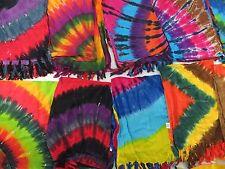 *US SELLER*Lot of 10 beachwear heppy punk clothing tie dye sarong wholesale...