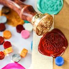 Weinlese-Particle Rubber Sealing Wax Seal Stamp DIY Scrapbooking Werkzeug