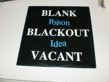 POISON IDEA - BLANK,BLACKOUT,VACANT - LP 1992 MADE IN UK - OIS - VINYL SOLUTION