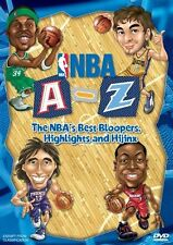 NBA: A-Z - The NBA's Best Bloopers, Highlights and Hijinx DVD BRAND NEW!