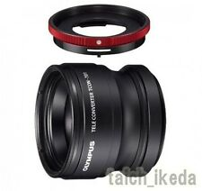 Olympus TCON-T01 Tele Converter Lens+CLA-T01 Adapter Ring for TG-1 TG2 TG3 TG4