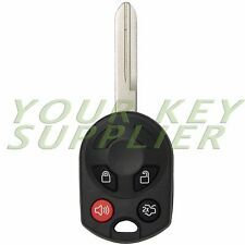 New Replacement Keyless Entry Remote Head Key Fob Combo Transmitter for Ford