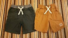 Boys Next Set Of 2 Tan & Navy Shorts 3-4 Years 2016 Collection