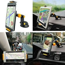 In-Car Mobile Phone Ipad GPS 360° Rotation Mount Holder on Windscreen,Dashboard