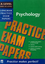 Mike Cardwell A-level Psychology (Longman Practice Exam Papers) Very Good Book