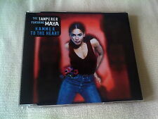 THE TAMPERER / MAYA - HAMMER TO THE HEART - DANCE CD SINGLE