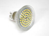 GU10 Warm White 3W 60 SMD 230V LED BULB Lamp Ceiling Light ENERGY SAVING