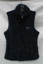 Patagonia Womens Los Gatos Fleece Vest 25216 Navy Blue Size Large