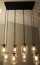 Vintage Bulb Type Bronze Hanging Kitchen Island Light Fixture Primitive