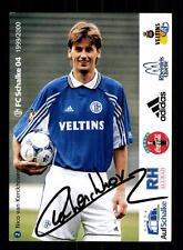 Nico van Kerckhoven Autogrammkarte FC Schalke 04 1999-00 Original Sign + A 62515
