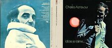 CD Charles AZNAVOUR Idiote Je T'Aime.. (1972) Gatefold Card board sleeve Replica
