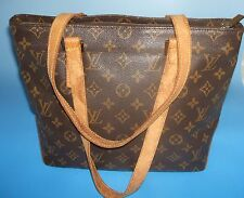 100% Authentic Louis Vuitton Monogram Cabas Piano Shoulder Tote Bag Purse #11432