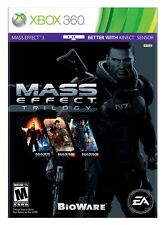 Mass Effect Trilogy [XBOX 360 RPG Includes Part 1 2 3 Bonus Content] Brand NEW