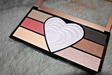 Makeup Revolution Love Palette eye shadow & face palette  highlighting palette