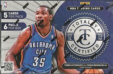 2012-13 Panini Totally Certified Basketball 12 Box Factory Sealed Hobby Case