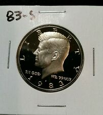 1983-S US PROOF KENNEDY HALF DOLLAR FROM US PROOF SET