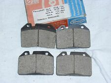 NEW OLD STOCK PEUGEOT 204,304,304S,404 FRONT BRAKE PAD SET with BENDIX Brakes