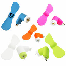 Mini ventilador portatil para movil Iphone ios Apple Ipad micro Usb novedad