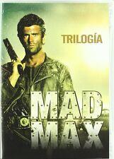 Mad Max 1 + 2 + 3 Trilogie [3 DVDs] *NEU* DEUTSCH mit Mel Gibson Uncut 1-3 DVD