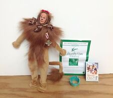 Ken as the Cowardly Lion from WIZARD of OZ BARBIE Collectors Edition with COA
