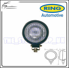 Ring Dual Voltage Round Small Rubber Worklamp With Glass Lens RCV9562