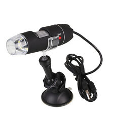 1000X USB Portable LED Light Electric Handheld Microscope Suction Tool