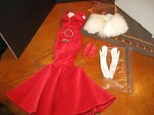 "TONNER-KITTY COLLIER SCARLET GLAMOUR OUTFIT-JEWELRY-SHOES FOR 18"" DOLL"