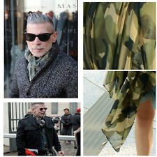 Celebrity OverSize Camouflage Prints Scarf Long Soft Army Green Fashion