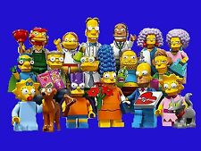 New Lego Minifigures The Simpsons Series 2 71009 Complete Set 16 Minifigs