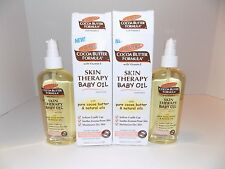 2x Palmer's Cocoa Butter Formula Skin Therapy Baby Oil 5.1 oz two boxes