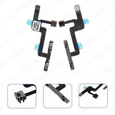 Power Volume Control Mute Button Mic Flex Cable Replacement For iPhone 6 6G 4.7""