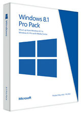 NEW Microsoft Windows 8.1 Pro Pack Win 8.1 to Win 8.1 Pro Upgrade - Key Card