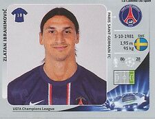 N°064 IBRAHIMOVIC # SWEDEN PSG PARIS SG CHAMPIONS LEAGUE 2013 STICKER PANINI