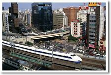 Bullet Train - Giza Japan - Asia Travel Print POSTER