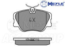 MEYLE Brake Pad Set, eje delantero con anti-Squeak placa 025 209 4119
