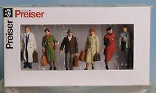 Preiser 65367, Spur 0  1:43,5 / 1:45, Stehende und gehende Reisende, Passengers