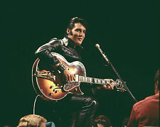 Elvis Presley Legendary Singer Playing Guitar 8x10 Glossy Color Photo