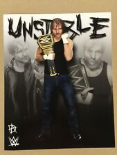Dean Ambrose WWE Champion 8x10 Photo Pic Wrestlemania Shield Reigns Rollins