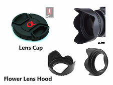 FK7 Lens Hood + Lens Cap 40.5mm for SONY Alpha A5000 A5100 A6000 16-50mm Lens