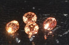 ***NEW***A Single 3mm Amazing Padparadscha Enhanced Natural SAPPHIRE!!!